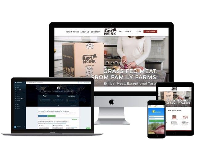 Kiva Logic Delivery Software Example Screenshots
